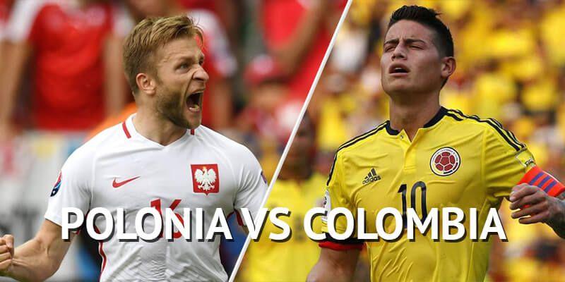 Apuestas Colombia vs Polonia Mundial Rusia 2018