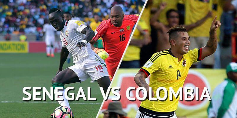 Resultado de imagen para SENEGAL VS COLOMBIA