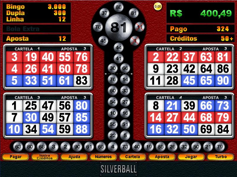 ¿Cómo funcionan las máquinas de bingo?