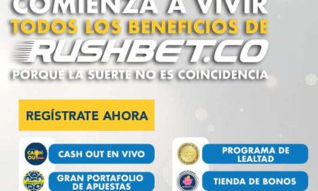 ¿Cómo hacer apuestas en Rushbet.co?