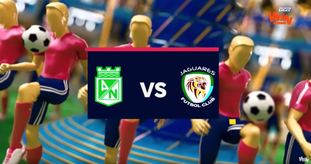 Atletico Nacional vs Jaguares 2019